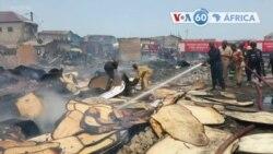 Manchetes africanas 8 abril: Incêndio em Acra deixa centenas de pessoas sem casa