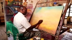 Kenyan Artist Depicts Suffering From Doctor's Strike