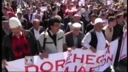 Protesta në Prizren