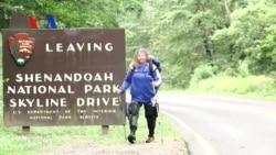 สาวอเมริกันขาอัมพาตใช้เทคโนโลยีช่วยเดินเขา Appalachian Trail