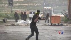 2019-04-02 美國之音視頻新聞: 以軍在約旦河西岸與民眾衝突開槍擊斃一名男子