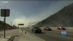 Сотні пожежників та волонтерів продовжують боротьбу з потужними лісовими пожежами у Каліфорнії. Відео