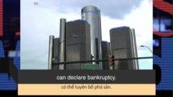 Học từ vựng qua bản tin ngắn: Bankruptcy (VOA News Words)