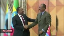 Rais wa Eritrea na waziri mku wa Ethiopia wametoa wito wa kuwepo upendo na umoja kwa wananchi wao