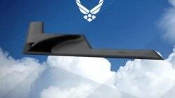 美国B-21远程轰炸机构想视频