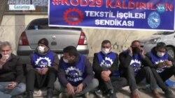 Kod-29 Mağduru Tekstil İşçileri Eylem Başlattı
