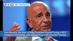 VOA60 Amerrikaa - Trump Ally Barrack Arrested on Foreign Lobbying Charges