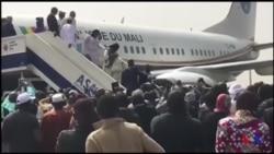 Retour d'exil de l'ancien président ATT (vidéo)