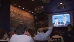 大选花絮:总统辩论观赏派对