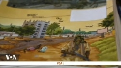 Didier Kassaï dessine pour la paix en Centrafrique