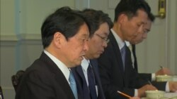 Onodera: Pressure on North Korea Must Be Maintained