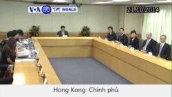 Chính phủ Hong Kong khằng định không có cải cách bầu cử (VOA60)