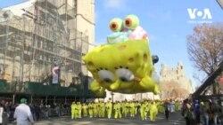 Без кульок нікуди: У Нью-Йорку відбувся Macy's парад до Дня подяки. Відео