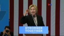 Trump le responde a Clinton