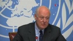 Siria: Mediador de ONU inicia consultas