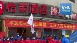 Les soignants venus en renfort quittent Wuhan sous les acclamations du public