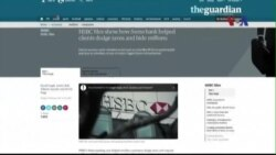 Ngân hàng HSBC bị phanh phui giúp khách hàng trốn thuế hàng triệu đôla