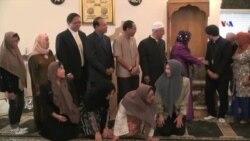 Amerika müsəlmanları Qurban bayramını qeyd edir