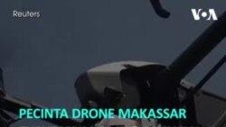 Pecinta Drone Makassar Turut Kirim Obat & Makanan Untuk Pasien COVID-19