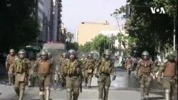 智利總統撤換八位內閣成員仍未能平息民眾不滿