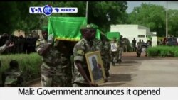 VOA60 Africa - Mali opens an investigation into the killing of 17 soldiers