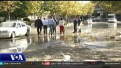 Tiranë: Përmbytjet, dëmet dhe polemikat partiake