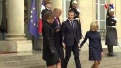 Trumpın Fransa səfəri mübahisələrlə yadda qaldı