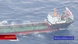 Nhật phát hiện tàu Trung Quốc chuyển dầu cho Triều Tiên