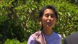 ທ່ານນາງ Aung San Suu Kyi ຢ້ຽມຢາມ ປະເທດ ອອສເຕຣເລຍ