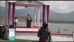 Prezidan Jovenel Moise lanse pwojè irigasyon Hydro-Elektrik baraj Marion an