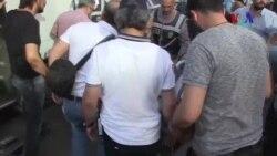 İhraç Edilenlerin Eylemine Polis Müdahalesi