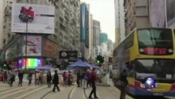 金钟清场后抗议者誓言继续抗争