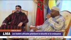 Les leaders africains priorisent la sécurité et la croissance