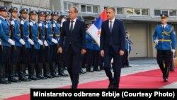 Ministri odbrane Srbije i BiH, Nebojša Stefanović i Sifet Podžić