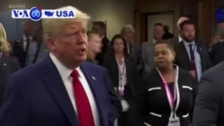 VOA60 America - Trump: US Doesn't Seek Conflict But Will Defend Its Interests