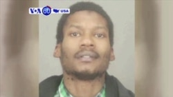 VOA60 America- Ex-convict arrested in New York on alleged terror plot charges
