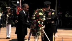 Obama Honors War Dead on Memorial Day