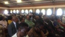 UMnangagwa loEunice Sandi Moyo Bakhonza eRoman Catholic Church