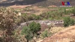Lice'de Operasyondan Geriye Yanmış Araziler Kaldı