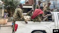 Wanamgambo wa kiamhara wanaounga mkono wanajeshi wa serikali kuu wanaopigana katika jimbo la kaskazini la Tigray.