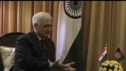2012-11-12 美國之音視頻新聞: 卡爾扎伊訪問印度敦促增加投資