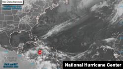 Badai Tropis Eta, 31 Oktober 2020. (Foto: Pusat Badai Nasional AS/NHC)