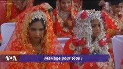 Mariage de masse pour les jeunes femmes orphelines et défavorisées en Inde