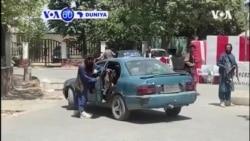 VOA 60 DUNIYA: Mayakan Taliban na yin sintiri a babban birnin Afghanistan inda suke kokarin nuna al'amura na tafiya daidai a ranar Litinin