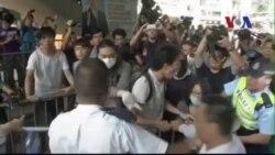 Người biểu tình ở Hồng Kông bị tấn công