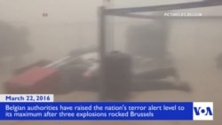 คลิปวิดีโอเหตุการณ์ระเบิดที่สนามบินกรุงบรัสเซลล์