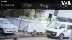 Camera an ninh ghi hình nghi phạm đánh bom ở Sri Lanka