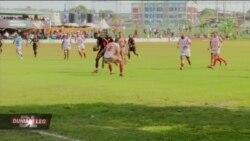 Timu ya taifa ya uganda ya Rugby yaishinda Tunisia.