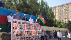 Milli Şura «Xilas olaq!»şüarı ilə mitinq keçirir Əli Kərimlinin çıxışı