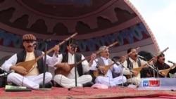 برگزاری دومین جشنوارۀ دمبوره در بامیان